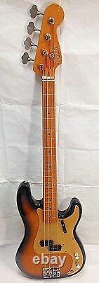 Fender American Vintage'57 Precision Bass 1996,2 Tone Sunburst, Maple Fretboard