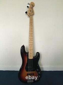 Fender Deluxe Active Precision Bass Special Sunburst, Maple Fretboard