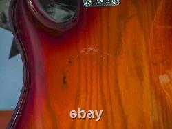 Fender Dimension Bass Cherry Burst Humbucker Bass