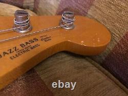 Fender Japan 62 Re-issue Jazz Bass