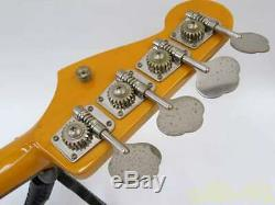 Fender Japan JB62-SB Jazz Bass Electric Bass Guitar Serviced Tested Used