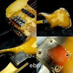 Fender Jazz Bass Sunburst 1960's Vintage Electric Bass, L0220