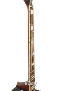 Fender Kingman Bass Acoustic/Electric Bass Guitar Black