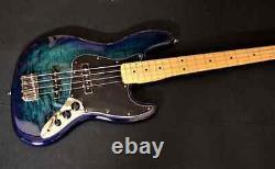 Fender Limited Edition Player Series Plus Top Jazz Bass Blue Burst