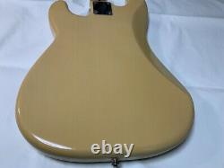 Fender Mexico 50s Blonde Precision Bass Maple Fretboard Gold Anodized Pickguard