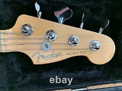 Fender Precision Bass, American Standard, Olympic White/ Maple Neck MINT