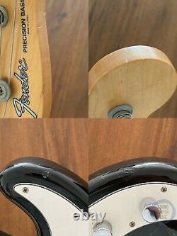 Fender Precision Bass, High Gloss Black (Tuxedo), 2008