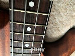 Fender Precision Bass Lyte Deluxe Very Rare Natural Mahogany 1996/97 Vgc