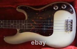 Fender Precision Bass (ultra-rare Antigua Burst finish 1977-78) + Case (Tweed)