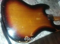 Fender Road Worn Jazz Bass, Rosewood, 2012 with upgrades