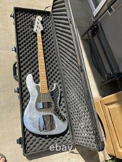 Fender Silver Foil Jackson Five Jazz Bass