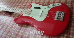 Fender Squier Bronco Bass An Ace Bass With Mods A Joy To Play + New Gig Bag