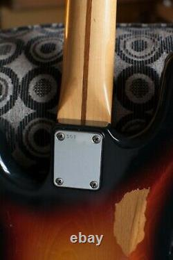 Fender Squier Precision Bass MIJ 1983 SQ serial