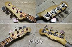 Fender Squire 50s Precision Bass Heavy Relic 51 Tribute in Butterscotch Nitro
