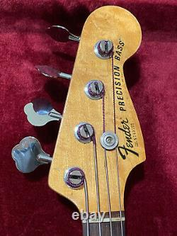 Fender Vintage Precision Bass 1977 Natural With Case