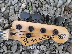 Fender jazz bass guitar Geddy Lee dimarzio custom