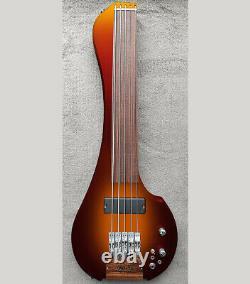 Fretless Bass 5 string Scale 22 Travel Bass FingyBass