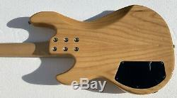 G&L L-2000 Gloss Natural Electric Bass Guitar G & L With Hardshell Case USA