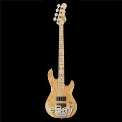 G&L Tribute L-2000 4-String Electric Bass Guitar Maple Fingerboard Natural Gloss
