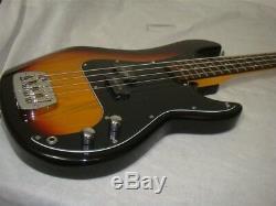 G&l Tribute Series Lb-100 Sunburst 4 St Brazilian Cherry Electric Bass Guitar