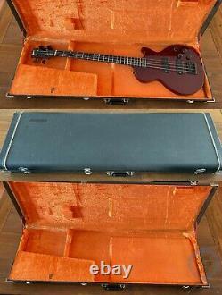 Gibson Les Paul Bass, Cherry, USA 1990, Active, Hard Case