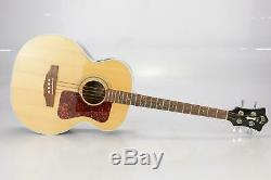 Guild B30E Acoustic Electric Bass Guitar with Case Justin Meldal-Johnsen #38092