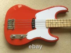 Harley Benton Vintage Series Precision Bass guitar with Fender 9050L flatwounds