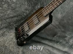 Headless Bass Steinberger Style Black