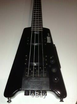 Hohner B2A Professional Steinberger electric bass travel guitar Good condition
