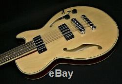 IBANEZ AGB200 NT 4 STRING SEMI-HOLLOW ELECTRIC BASS GUITAR Short 30.30 Scale