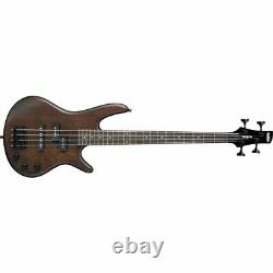 IBANEZ GSRM20B-WNF Micro 4-Saiter Electric Bass IN Walnut Flat