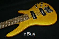 IBANEZ GVB36 AM Gerald Veasley Signature 6 STRING ELECTRIC BASS GUITAR Bartolini