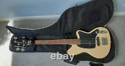 IBANEZ TMB30-IV Talman Short Scale BASS GUITAR Ivory, with case, strap & cable
