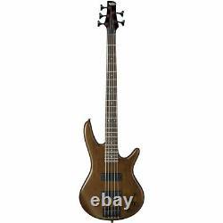Ibanez GSR205B-WNF Bass Guitar 5 String Walnut Flat
