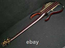Ibanez Premium Btb1905sm Skb 5 String Electric Bass Guitar Neck Thru Body & Bag