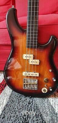 Ibanez RS924 1981 Sunburst Fretless Bass Guitar