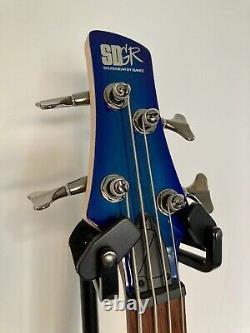 Ibanez SR370E SPB Electric Bass Guitar Sapphire Blue Mint Condition