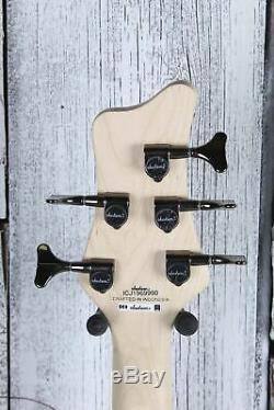 Jackson JS Series Spectra Bass JS3QV 5 String Electric Bass Guitar Alien Burst
