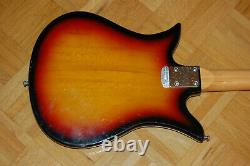 Kay Tulip Vintage 60s Electric Bass K-1B Made in Japan Teisco