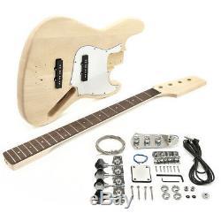 LA-J Electric Bass Guitar DIY Kit