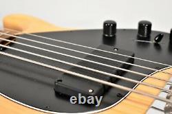 Late 90s Ernie Ball MusicMan StingRay 5 Natural Electric Bass Guitar withOHSC
