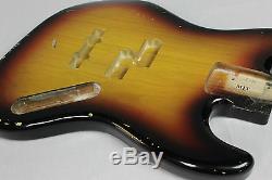 MJT Official Custom Order Vintage Aged Nitro Finish Guitar Bass Body Mark Jenny