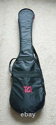 MTD Kingston KZ6 Bass Great Condition Poplar Burl, 6-String, Active