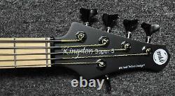 MTD Kingston Super-5, Matte Black with Maple Fingerboard