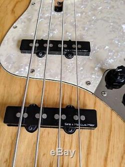 Marcus Miller Sire V7 bass guitar