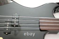 NOW £355 The legendary Westone Thunder 1A fretless bass guitar-gloss black