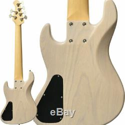 New Bacchus HJB6-STANDARD ASH WBD white blonde Electric Bass Guitar From Japan