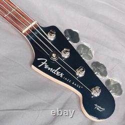 New Fender Made in Japan Aerodyne II Jazz Bass Rosewood Gun Metal Blue Guitar
