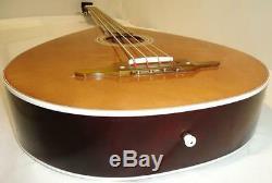 New Ukrainian Folk Electric Guitar Kobza Bass 4 Strings with Electr. Pickup, 55