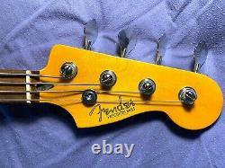 Partscaster Precision Bass, swamp ash body, natural finish, maple neck